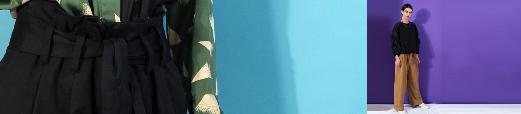 Pantalone da Donna Stampate - Collezione Invernale Exclusiva ANONYME