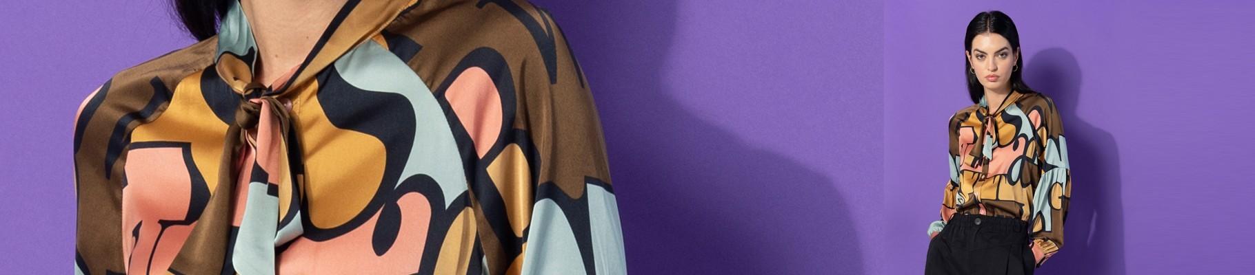 Top & Camicie da Donna Stampate Invernali | ANONYME Designers